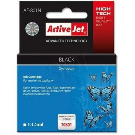 ActiveJet replace Epson T0801 black (15ml )