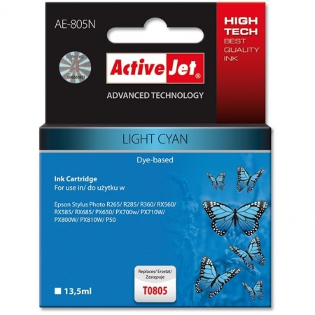 ActiveJet replace Epson T0806 light magenta (13.5ml )