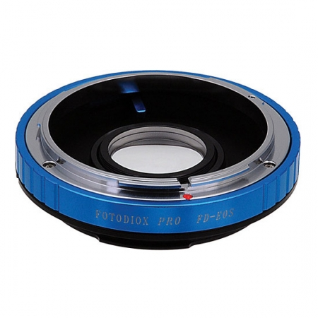 Adaptor Canon FL/FD la Canon EF/EF-S cu chip focus