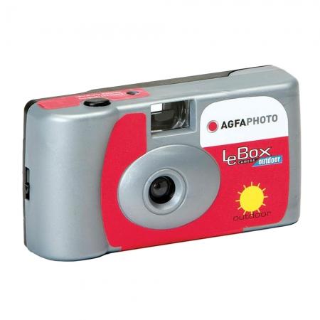 Agfa LeBox Outdoor - Aparat foto de unica folosinta - 27 cadre / 400 ISO