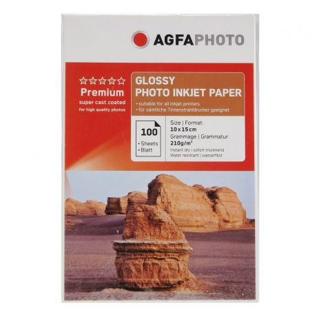 AgfaPhoto Photo Glossy Paper 10x15cm 100coli