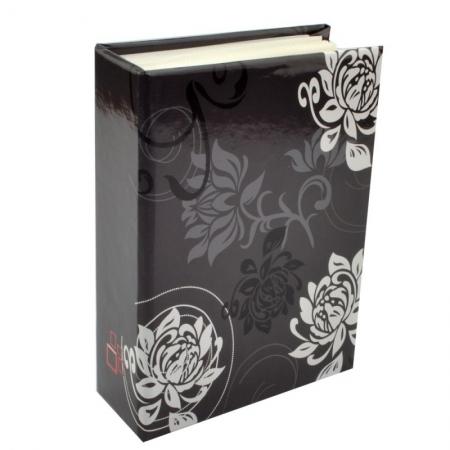 Album foto Black&White Floral, 10x15, 200 fotografii, Negru