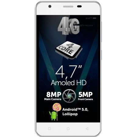 Allview V2 Viper - Dual Sim 4,7' HD, Quad Core 1.3GHz, RAM 1 GB, 16 GB,  alb