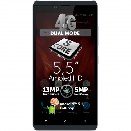 Allview V2 Viper X+ - Dual SIM, Octa-core 1.3 GHz, 16GB, 3 GB RAM, LTE 4G - albastru