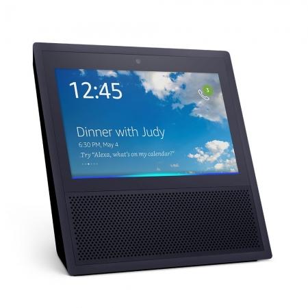 Amazon Echo Show - Boxa Portabila Cu Ecran Si Apelare Video, Negru