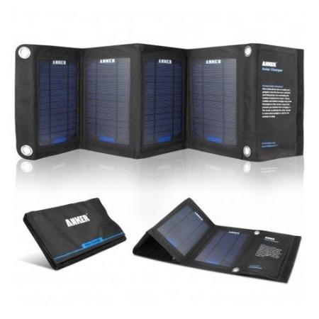 Anker Incarcator solar 14W Negru