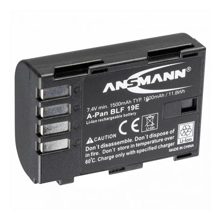 Ansmann DMW-BLF19E - acumulator replace pentru DMC-GH3 si DMC-GH4