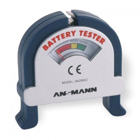 Ansmann - tester pentru acumulatori si baterii