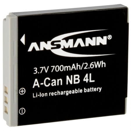 Ansmann acumulator replace Li-Ion pt Canon tip NB-4L