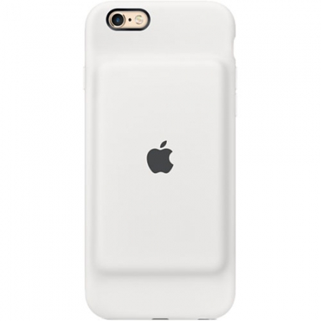Apple Baterie Externa + Husa 1800 mAh iPhone 6, 6S - alb