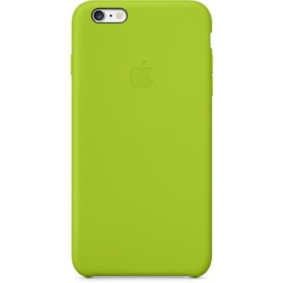 Apple - husa capac spate silicon pentru iPhone 6 Plus - verde