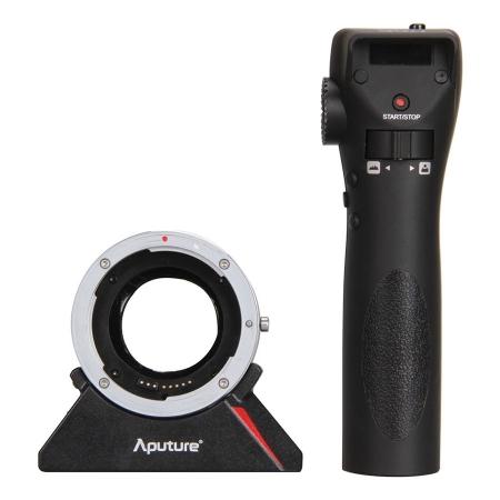 Aputure DEC - adaptor Canon EF la Sony E cu control wireless pt focus & diafragma