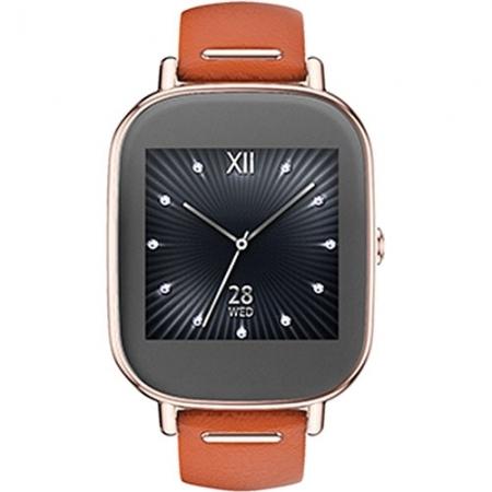 Asus Smartwatch Zenwatch 2 curea piele portocalie