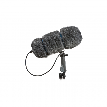 Audio-Technica Large Soft Zeppelin BPZ-L - Protectie de vant 360mm cu maner XLR