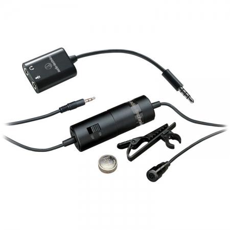 Audio-Technica Lavaliera cu fir omnidirectionala entry smartphone RS125029235-2