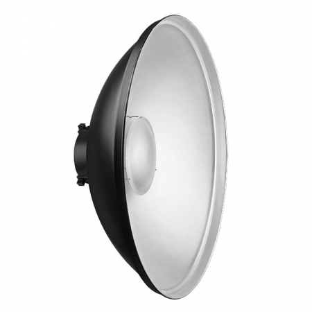 Beauty dish DYN 70cm silver - montura Bowens