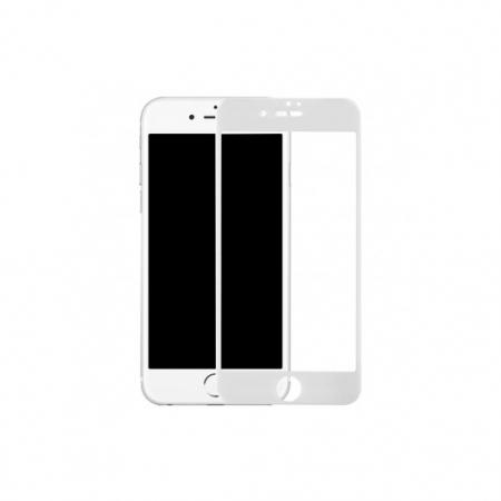 Benks Premium PRO - Folie sticla securizata pentru iPhone 7 Plus, Full Body, 9H, 0.3 mm, Alb