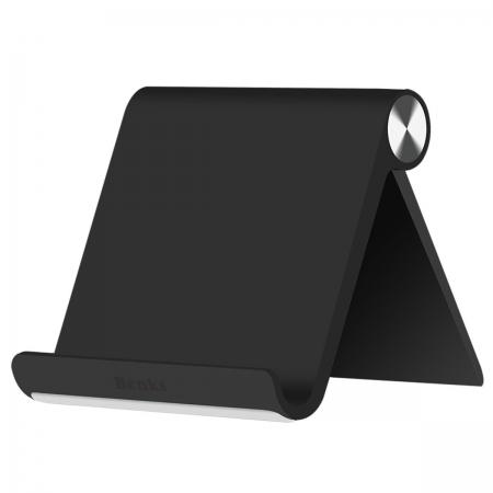 Benks - Suport de birou pentru telefoane si tablete, Negru