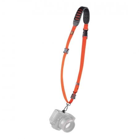 BlackRapid Cross SHOT - curea foto pentru DSLR - portocaliu