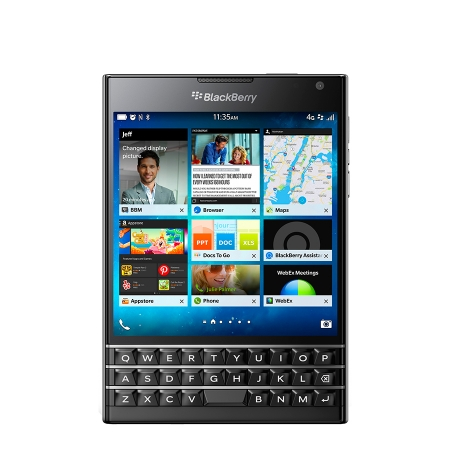 Blackberry Passport 4G Black RS125016266-21