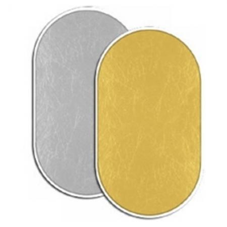 Fancier blenda 2in1, Gold/Silver, 90x120cm