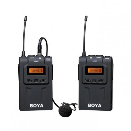 Boya BY-WM6 UHF - Kit microfon wireless