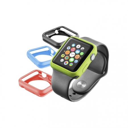 Cellularline Husa Bumper 4pc Apple Watch 38mm