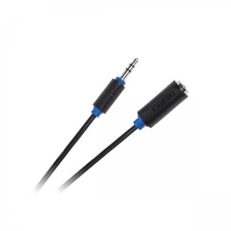 Cabletech cablu audio-video jack 3.5 tata - jack 3.5 mama KPO3951 - 10m