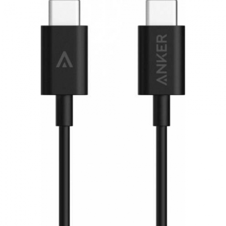 Cablu premium Anker USB-C USB-C - 1 metru negru