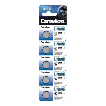Camelion - Baterie Litiu, CR1616, 3V, Blister 5 buc.