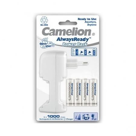 Camelion Power Pack BC-0908 - Incarcator cu 4 acumulatori