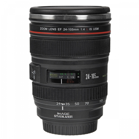 Cana obiectiv Canon 24-105mm f/4L IS USM Black - termoizolanta