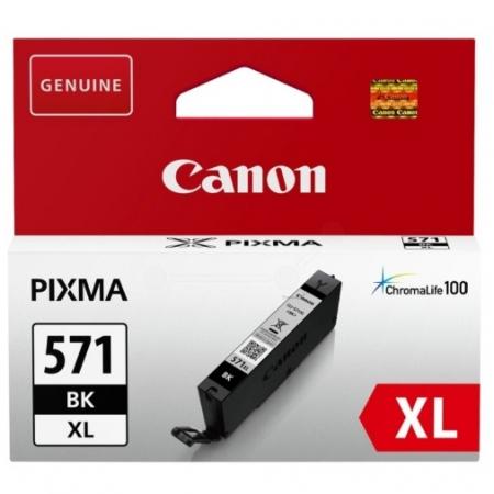Canon CLI-571XLBK (11ml) - Pixma MG5750, MG6850, MG7750 - negru