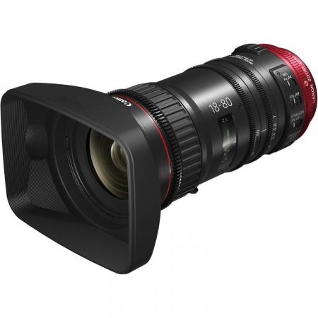 Canon CN-E 18-80mm T4.4 Compact Servo (EF mount) - Cinema lens