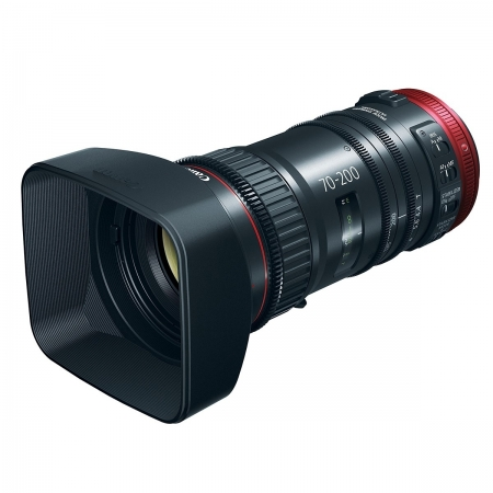 Canon CN-E 70-200mm T4.4 L IS KAS S, negru