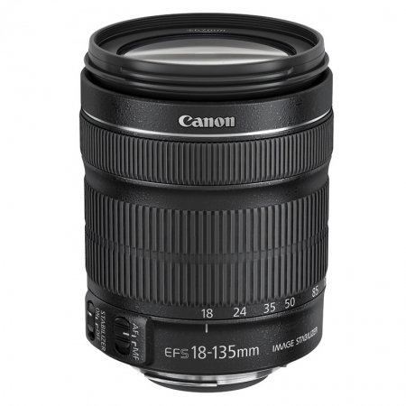 Canon EF-S 18-135mm f/3.5-5.6 IS STM (din kit)