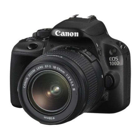 Canon EOS 100D kit EF-S 18-55mm f/3.5-5.6 DC III
