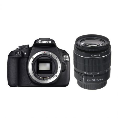 Canon EOS 1200D + EF-S 18-55mm f/3.5-5.6 DC fara stabilizare RS125011569-2