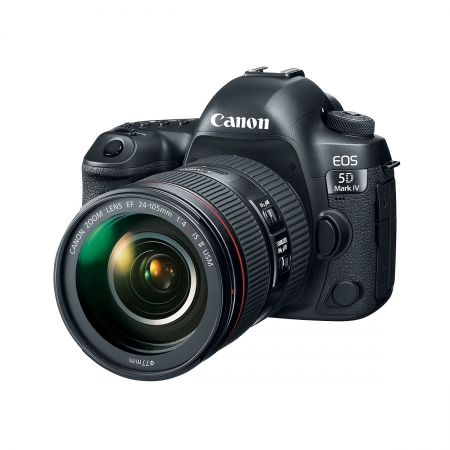 Canon EOS 5D Mark IV 24-105mm F4 IS L II - full frame, 30Mpx, video 4K, ecran 3.2 inch touchscreen