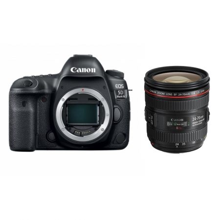 Canon EOS 5D Mark IV kit EF 24-70mm F4 IS L