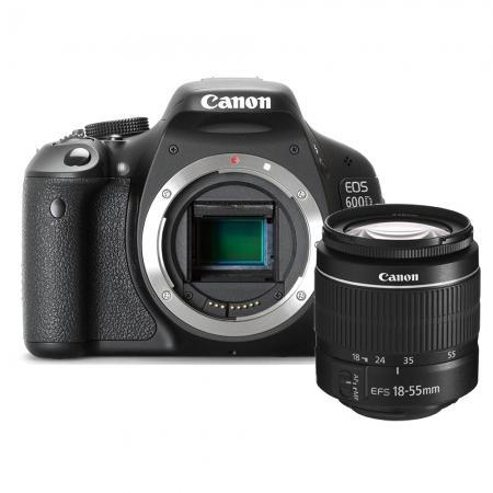 Canon EOS 600D kit 18-55 III DC (fara IS)