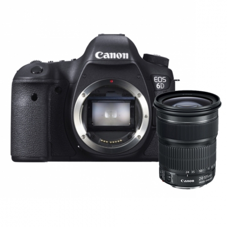 Canon EOS 6D kit 24-105mm f/3.5-5.6 IS STM  ( wifi + GPS )