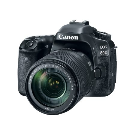 Canon EOS 80D kit EF-S 18-135 IS Nano USM RS125025885