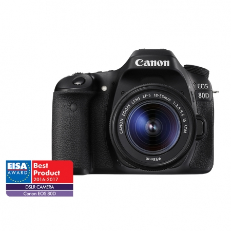 Canon EOS 80D kit EF-S 18-55 IS STM