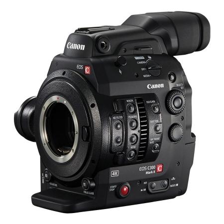 Canon EOS C300 Mark II - camera cinema 4K - montura Canon EF