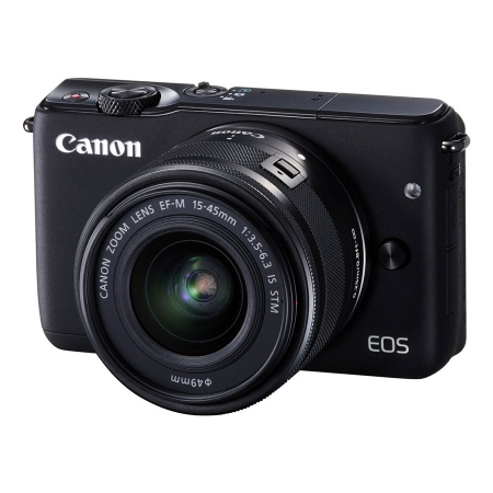 Canon EOS M10 negru kit EF-M 15-45mm f/3.5-6.3 IS STM negru