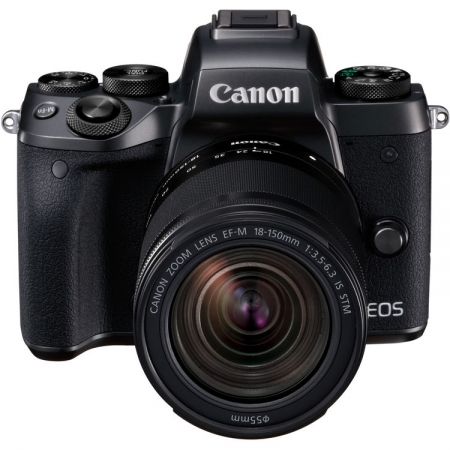 Canon EOS M5 negru Kit EF-M 18-150mm  IS STM