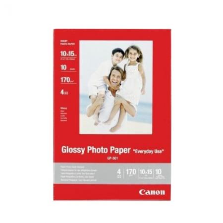 Canon Glossy GP-501 10 x 15cm - 10 coli