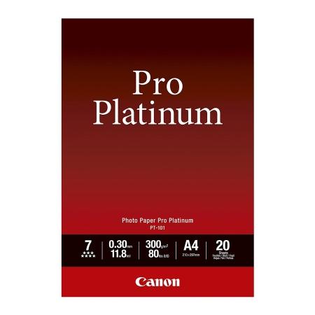 Canon Hartie foto Pro Platinum A4 20coli 300gr (CANPT101A4)