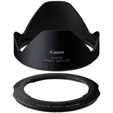 Canon LHDC100 - parasolar si adaptor pentru filtru pentru G3X
